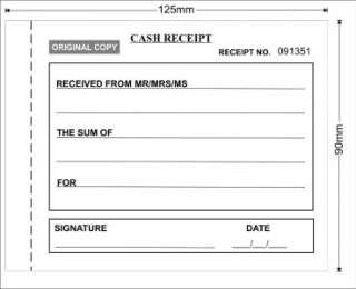 free cash receipt template word .