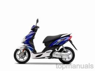 MANUAL TALLER YAMAHA JOG 50 R RR WORKSHOP SERVICE CS50Z