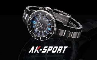 Colour ★AK SPORT★ Sports Mens Wrist Watch 8 mode