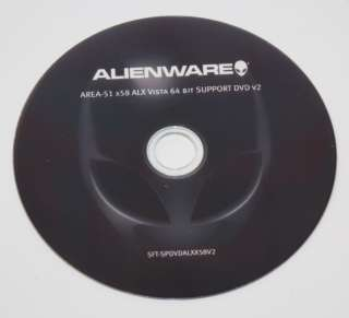 Alienware Area 51 X58 ALX 64 BIT Support DVD