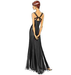 B 5183 Patron couture Robe soirée / cocktail T44 52