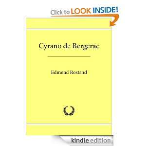Cyrano de Bergerac (French Edition): Edmond Rostand: