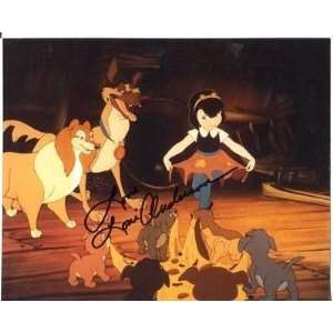 Anderson Signed Photograph   Loni All Dogs Go to Heaven