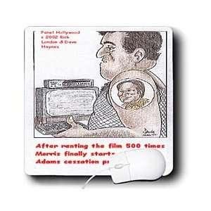 Cartoons   Patch Adams Cessation Program   Mouse Pads: Electronics