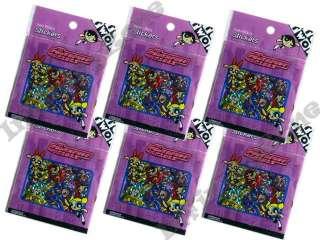 Powerpuff Girls Buttercup Blossom Bubbles 600 Stickers