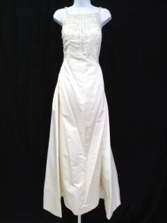 VERA WANG Ivory Beaded Jeweled Wedding Gown Dress