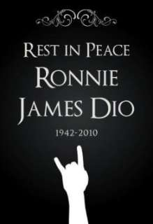 Professionally Framed Ronnie James Dio (Rest In Peace