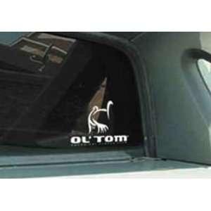 Ol Tom Logo Window Decal