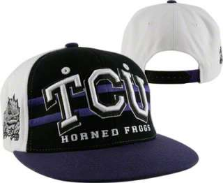 TCU Horned Frogs Supersonic Adjustable Snapback Hat