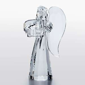 Sorelle Large Crystal Angel with Wings Tealight Holder