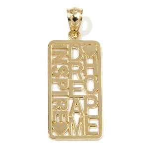Everyday Gold by Michael Anthony® 14K Inspire, Dream, Hope Tag
