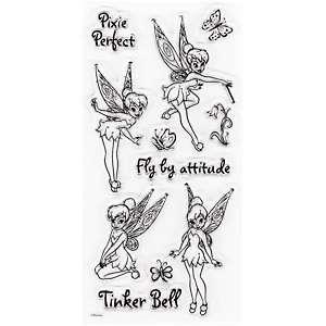 EK Success Clear Stamp Sheet   Disneys Tinker Bell