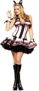 Sexy Showtime Kitty Cat Costume   Sexy Halloween Costumes