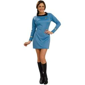 Star Trek Classic Deluxe Blue Dress Adult Costume, 60289