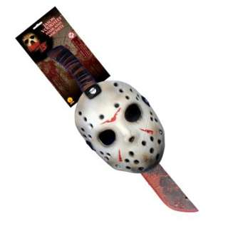Friday the 13th 2009 Jason Mask & Machette Set, 60327