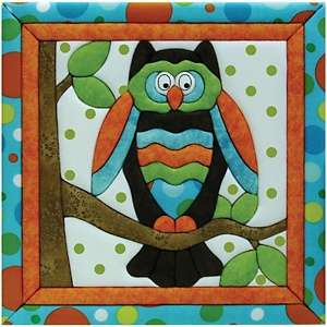 Owl Quilt Magic No Sew Wall Hanging Kit