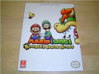 MARIO & LUIGI BOWSERS INSIDE STORY GUIDE WALKTROUGH NINTENDO DS *NYTT*