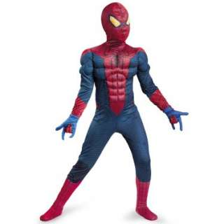 The Amazing Spider Man Classic Muscle Chest Child Costume   Costumes
