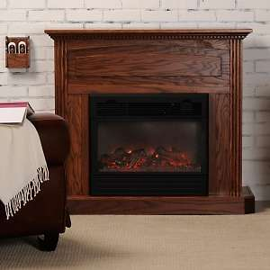 Heat Surge Amish Made Large Electric Fireplace