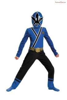 Blue Ranger Samurai Classic Costume