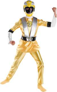 This Yellow Ranger deluxe costume from the Power Ranger RPM series