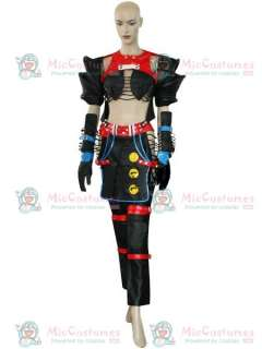 Final Fantasy X 2 Warrior Yuna Cosplay Costume  FF X 2 Warrior Yuna