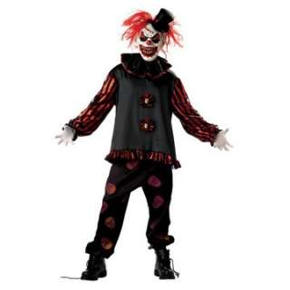 Adult Carver The Killer Clown Costume   Scary Clown Costumes