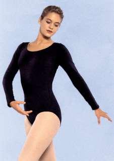 Adult Long Sleeve Leotard   Dancer Costume Accessories   15UA04