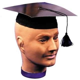 Adult Graduate Cap   College Costume Hats   15GC102