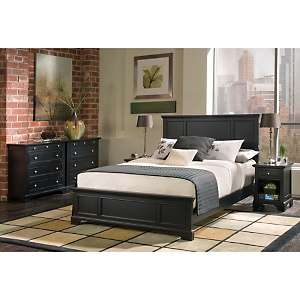 Home Styles Bedford Headboard and Nightstand   Queen