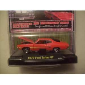 M2 Machines Detroit Muscle R7 Coral 1970 Ford Torino GT: Toys & Games