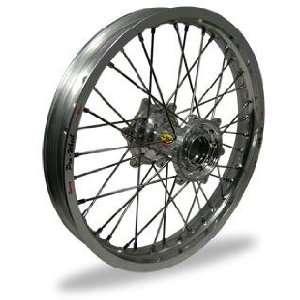 MX Rear Wheel Set   18x2.15   Silver Rim/Silver Hub 24 42811 HUB/RIM