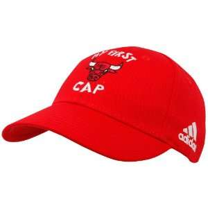 adidas Chicago Bulls Red Infant My First Team Logo Cap