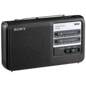 ICF38 PORTABLE AM/FM RADIO (PERSONAL AUDIO) High Quality Electronics