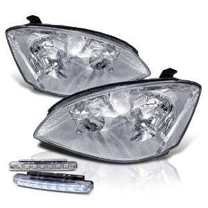 Altima Chrome Head Lights + LED Bumper Fog Lamps New Set Automotive