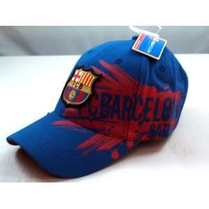FC BARCELONA OFFICIAL TEAM LOGO CAP / HAT   FCB017  Sports