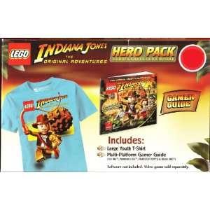 Lego Indiana Jones Hero Pack T Shirt (Youth Large) and Prima Starter