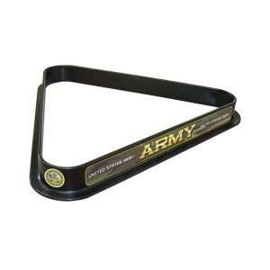 United States Army Billiard Ball Triangle Rack