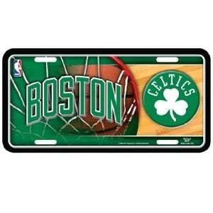 NBA Boston Celtics License Plate   Metal Deluxe Graphics ~SALE