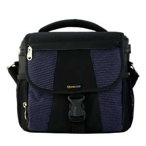 Universal Blue DSLR Large Camera and Lens Carrying Pouch Nylon Bag