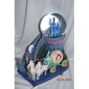 Musical Snow Globe Cinderella Prince Charming