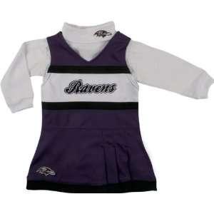 Baltimore Ravens Toddler (2T 4T) Cheer Uniform