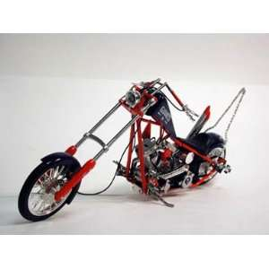NFL Orange County Choppers 110 Scale New York Giants Chopper