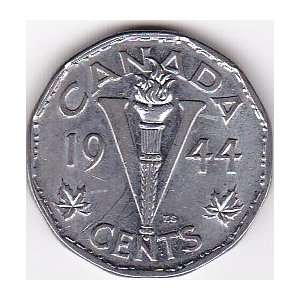 1944 Canada 5 Cents Coin Everything Else