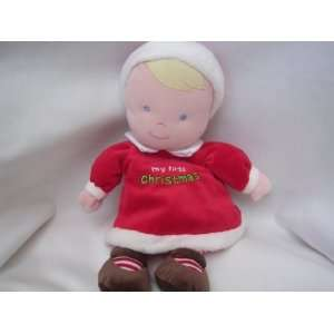 Baby Soft Doll 11 Plush Toy Collectible ; My First