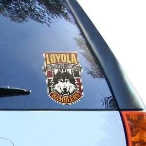 NCAA Loyola Ramblers 4 Team Logo Car Decal Sports