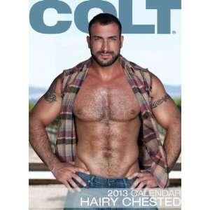Colt Hairy Chested 2013 Calendar  9781880777404  Colt Studio GroupPernell Roberts Speedo