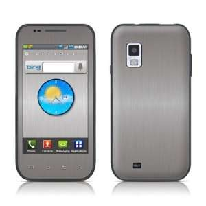 Brushed Steel Design Protective Skin Decal Sticker for