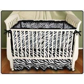 Funky Zebra Fitted Crib Sheet for Baby and Toddler Bedding
