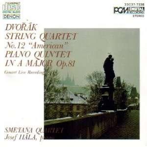 Dvorak String Quartet No. 12 American / Piano Quintet